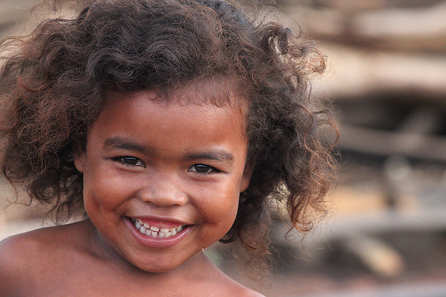 smiling little girl, Madagascar Kids 20