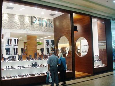 pink calçados lojas