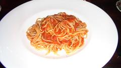 Spaguettini a la rabiatta