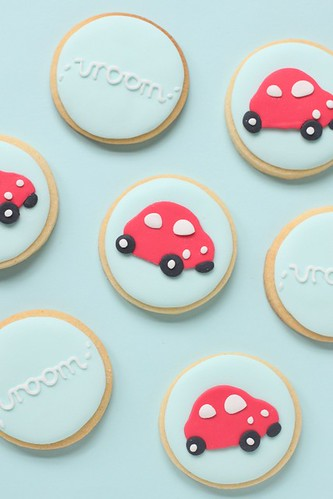 little red car cookies