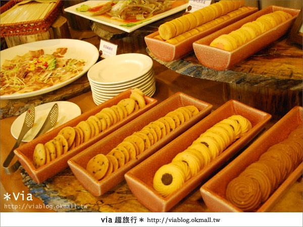【新竹旅館】關西六福莊生態渡假旅館~餐食篇11