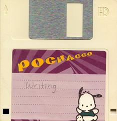 Pochacco floppy (strawbrryff) Tags: floppy pochacco vintagetech