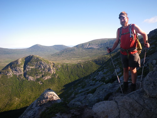 Chris on Katahdin
