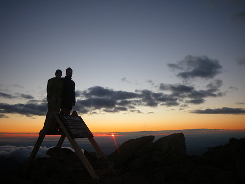 Summit of Katahdin @ Sunrise
