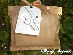 Pink Trench Coat Earrings Package