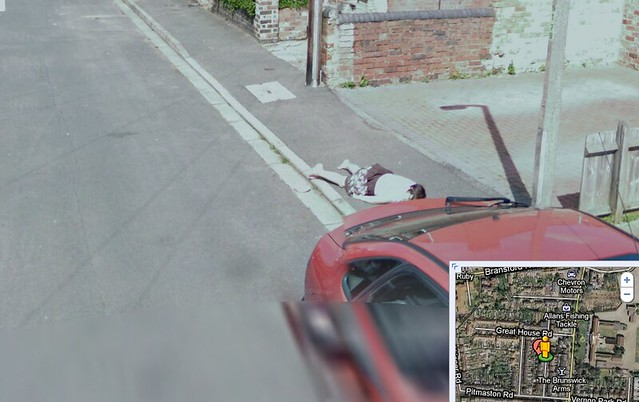 Dead Girl Stat on Google Maps