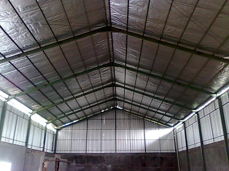 JASA KONSTRUKSI BAJA (Bangun Pabrik, Gudang, GOR, Bengkel, Lapangan Futsal, dsb)