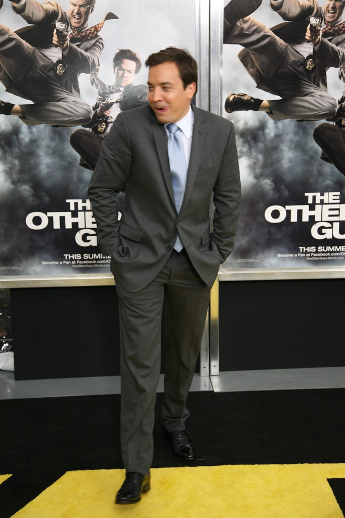 Jimmy Fallon, The Other Guys Movie Premiere, Ziegfeld Theatre, Manhattan, NY