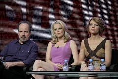 William Hope, Mircea Monroe and Kathleen Rose Perkins from Showtime's 'Episodes' (djtomdog) Tags: television tv thomas hilton lewis hills beverly showtime tca junkie association attila critics episodes williamhope kathleenroseperkins mirceamonroe thetvjunkie