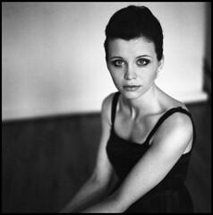 Just Summer VII (__Daniele__) Tags: portrait bw 120 6x6 film girl delta hasselblad 400 analogue schwarzweiss ilford