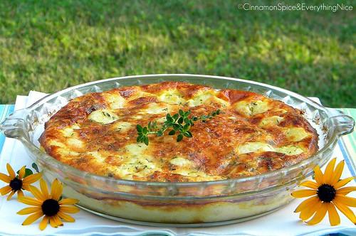 Crustless Cauliflower Quiche
