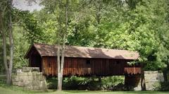 Pennsylvania | Brush Creek (e r j k . a m e r j k a) Tags: bridge wooden pennsylvania beaver covered coveredbridge beavercreek brushcreek