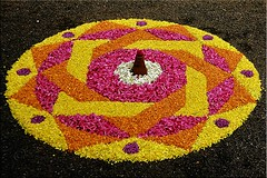 DP Pookkalam (www.senyphotography.com Out for few days..:-() Tags: flowers colors onam floralart pookkalam mahabali onamcelebration thrikkakkarayappan discoverplanet