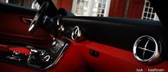 Awesome air vents.. (Luuk van Kaathoven) Tags: red interior air mercedesbenz dashboard van sls vents amg luuk autogetestnl luukvankaathovennl autogetest kaathoven