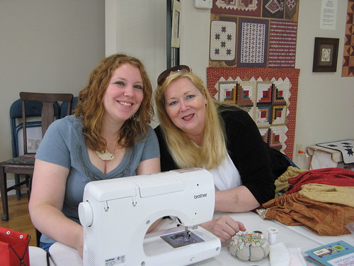Kaelin and her MIL Lana - NOLA Modern Quilt Guild