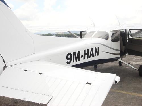 KL by air - reuben - plane