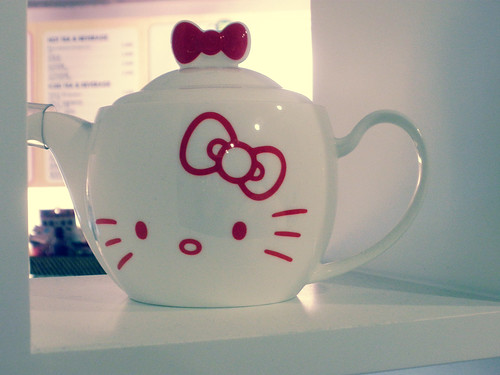 Hello Kitty Cafe in Sinchon