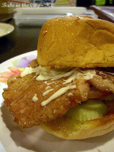 Macau Pork Chop Burger (RM6.90)