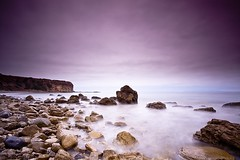 purple haze (Andy Kennelly) Tags: ocean california mist beach wet water fog big haze rocks long exposure purple pacific filter lee hendrix jimi verdes palos stopper