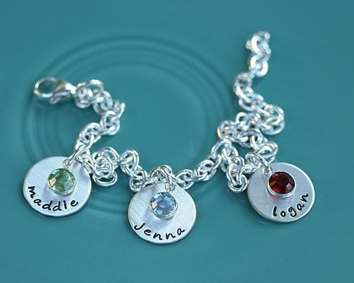 dainty drops bracelet