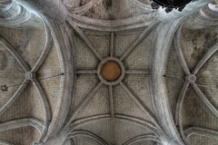 Eclaron church - vaults of the nave (Eusebius@Commons) Tags: church stone architecture champagne gothic ceiling vaults eclaron
