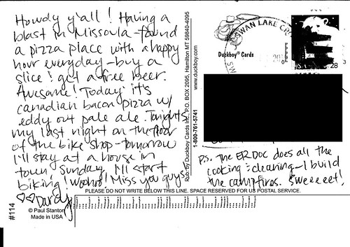 Montana Post Card 2