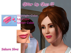 Glitter Lip Gloss 01