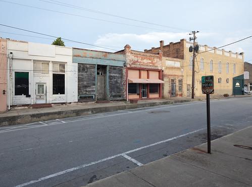 Sparta, Georgia Side Street