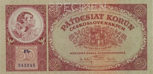 Czechoslovakia Mucha front