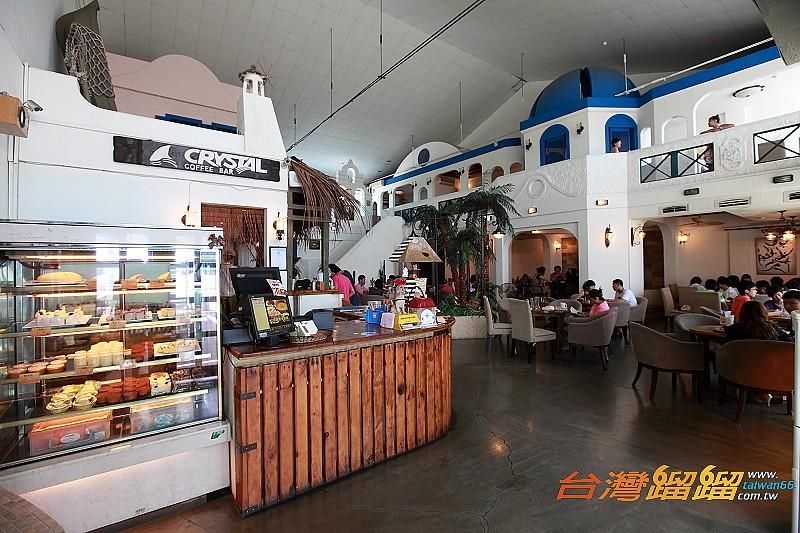高雄  巴沙諾瓦 希臘 地中海 風情餐廳 漁人碼頭 美食