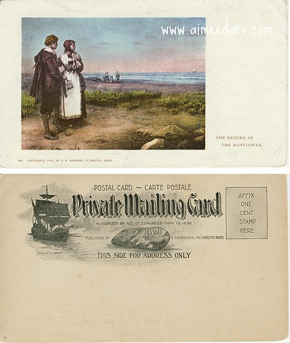 Mayflower - Private Mailing Card