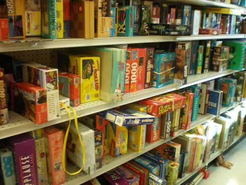 full board game section