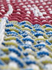 Hammock (historygradguy (jobhunting)) Tags: blue red white colors yellow boston ma dof massachusetts newengland rope depthoffield mass bostonist