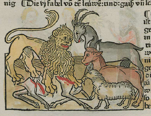 leo, vacca, capra et ovis