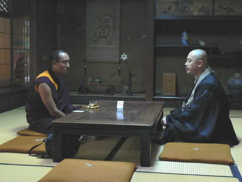 Buddhism meeting