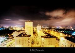 ZN City night (Le***Refs *PHOTOGRAPHIE*) Tags: city longexposure light sky night clouds nikon tripod cité tamron toit nimes nuit hdr immeuble hdri batiment longueexposition zup d90 poselongue 1024mm valdegour zupnord lerefs