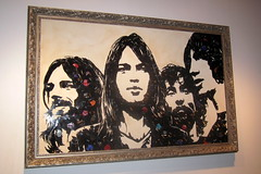 NYC: Mr. Brainwash's Icons Remix - Pink Floyd (wallyg) Tags: nyc newyorkcity streetart ny newyork art gallery artgallery manhattan pinkfloyd gothamist meatpackingdistrict mbw brokenrecords mrbrainwash thierryguetta iconsremix