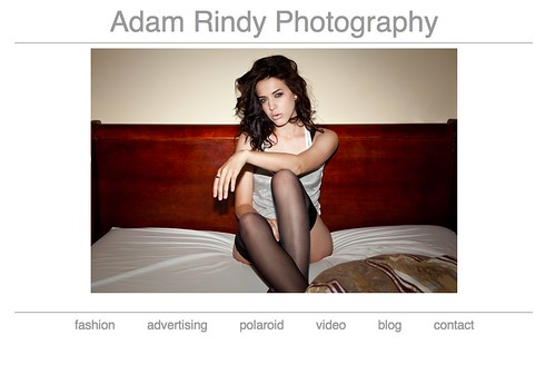 AdamRindy.com home page