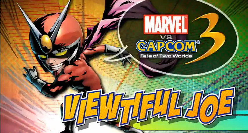 Viewtiful Joe on Marvel vs Capcom 3