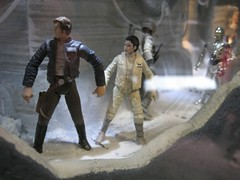 Battle of Hoth diorama at Hasbro's Display (Doc_Brown) Tags: starwars celebrationv celebration5 cv c5 swcv orlando florida 2010 fans costumes collecting jedi sith bountyhunters theempirestrikesback tesb 30thanniversary