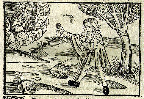 Viator, Mercurius et Nuces