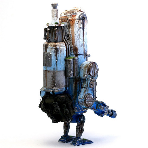 """Plasma"" custom 8.5"" WWRp Bertie by Ashley Wood"