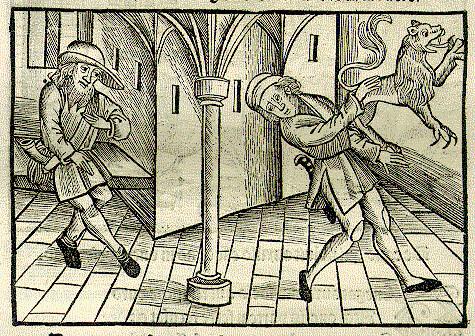Filius et Leo Pictus