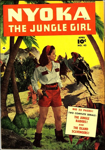 Nyoka the Jungle Girl #42