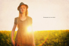 Just breathe! (Jo-Ann Stokes) Tags: model flare teenager sunburst sinead canolafields sineadmalan
