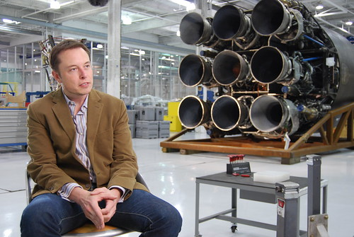 Elon Musk's commercial space travel corporation