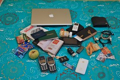 In my BackPack (Mike Chus) Tags: nokia iphone 3310 whatinmybag macbook