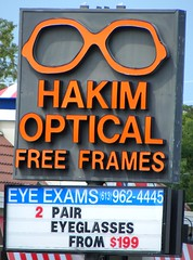 ontario sign glasses frames pair belleville free business specs optometrist eyewear eyeexams hastingscounty hakimoptical northfrontst