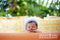 baby ben (Stephanie Anders Photography) Tags: baby color hat newborn hanging 10days nikond700
