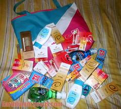 A bag of Unilab goodies!